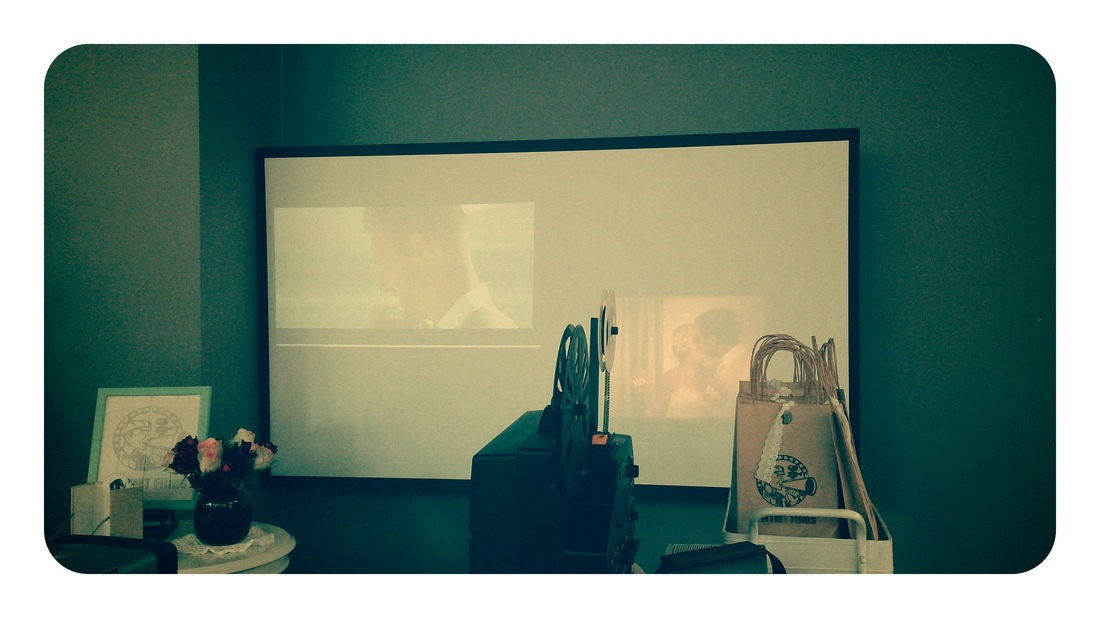 super 8 projection